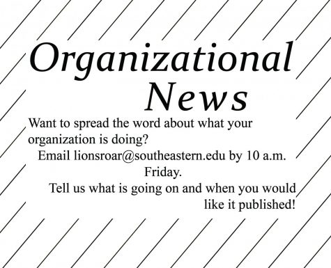 Organizational news - Sept. 17, 2019 issue