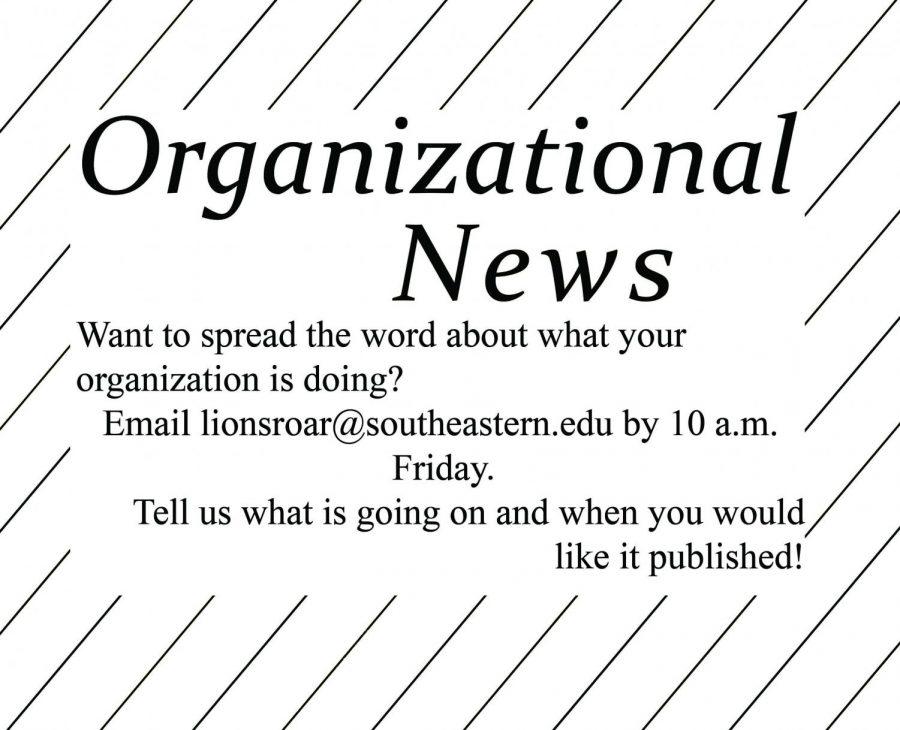 Organizational news - Sept. 17, 2019 issue