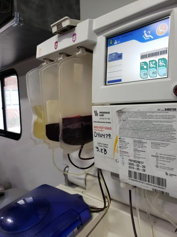 LifeShare receives blood donation
