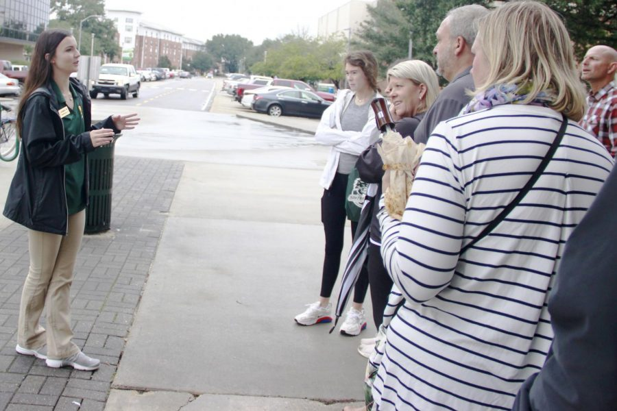 More than a tour: the duties of a campus tour guide