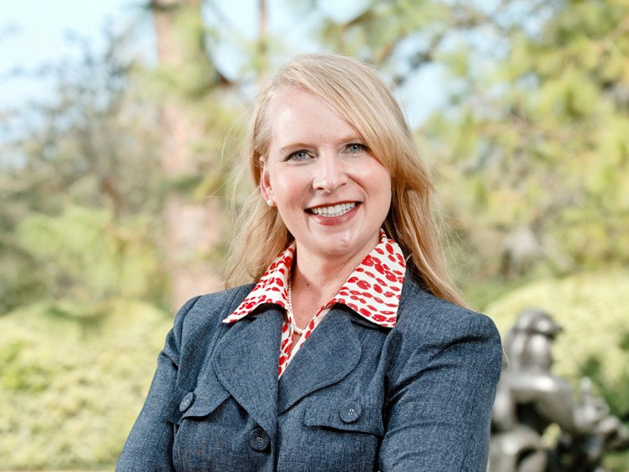 Erin+Cowser%2C+former+executive+director+of+public+and+governmental+affairs%2C+has+left+her+university+position+to+advocate+for+higher+education+through+the+Louisiana+Board+of+Regents.