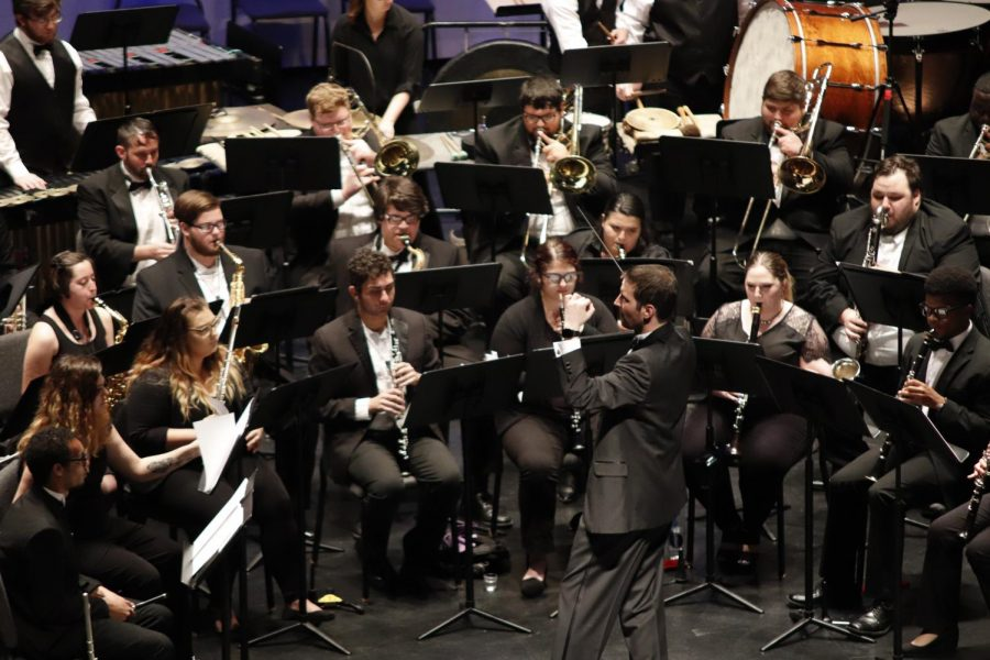 The university gives students interested in music the opportunity to participate in unique curriculum tailored to their abilities and interests. Music majors are given the option to declare at least one of five concentrations.