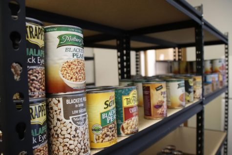 Any member of the campus community can utilize the Food Pantry during its hours Monday through Thursday. The Food Pantry is always accepting donations.