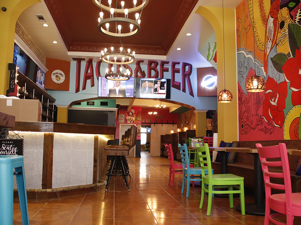 Previously Mojitos Bistro, the building has been renovated for the new location for Tacos & Beer. The business will be closed on Wednesday, Nov. 20 and will open at the new location on Thursday, Nov. 21.