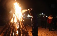 Students support March of Dimes through bonfire