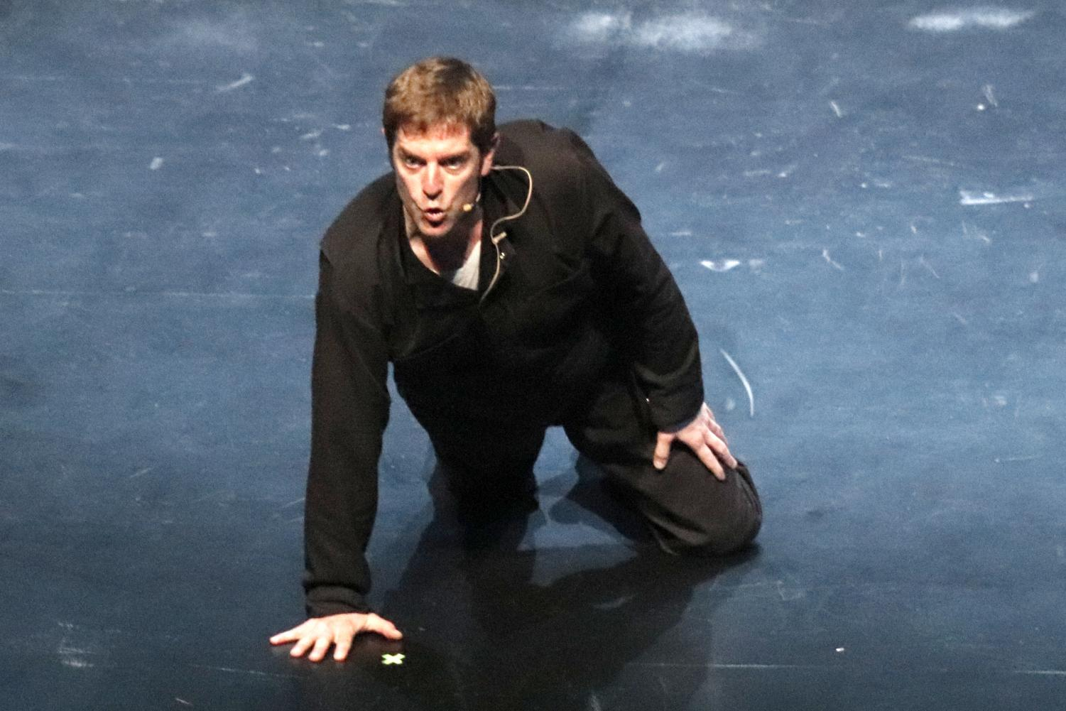 Charles Ross preforms his One-Man Star Wars trilogy at the Columbia Theatre for the Performing Arts.