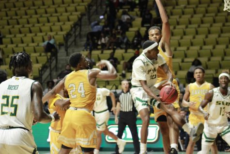 Lion's defeat Xavier to earn their first win of the regular season