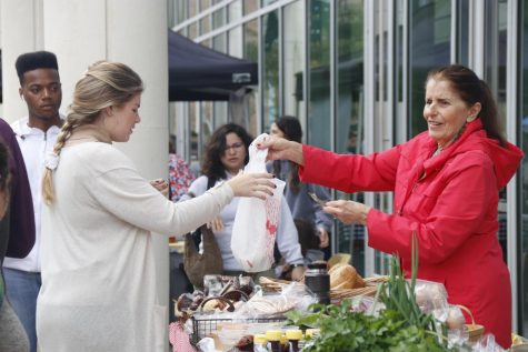 Reconnect Farmer's Market was held in front of the Student Union on Feb. 19 from 10 a.m. to 2 p.m. Students and faculty could browse sample and purchase a variety of goods.