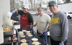 Local food bank hosts pancake breakfast to aid the hungry