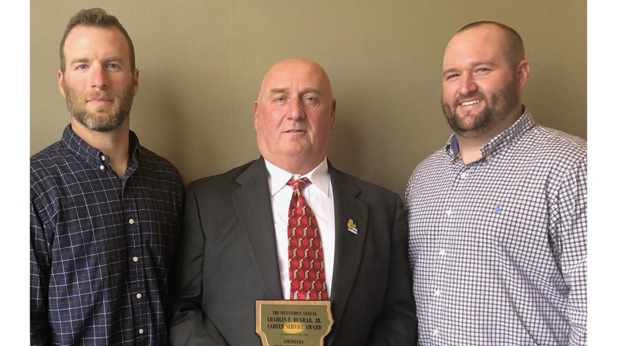 Master locksmith at Physical Plant receives Charles E. Dunbar Award