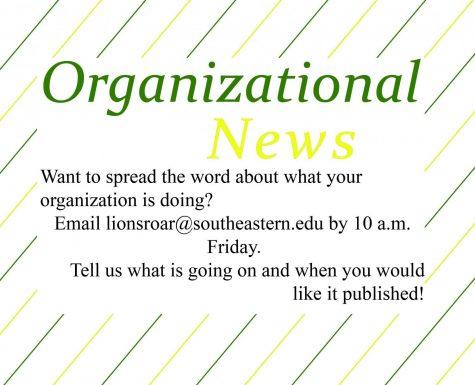 Organizational news: March 3, 2020 issue