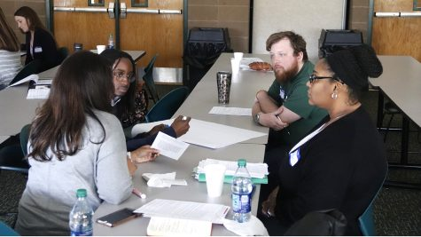 The university's office of Multicultural and International Student Affairs hosted a training regarding