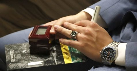 The ring ceremony is a tradition that celebrates a graduating student's accomplishments. Now that classes are online, the ceremony may have to be conducted virtually.