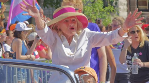 A leader in the LGBTQ+ world: Edith Windsor