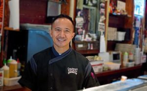 The university named Jonathan Wong, co-founder of Cate Street Seafood Station in Hammond and The Boston Restaurant in Amite, 2020 Young Alumnus of the Year. He graduated in 2003 and has continued to volunteer his services to help the campus and its students.