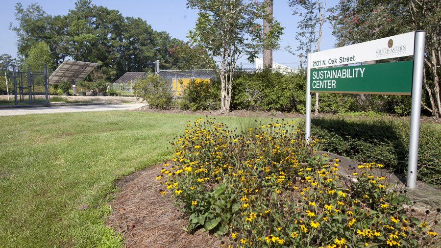 The University Sustainable Center has made some additions to their projects including vermicomposting and installation of a flower-shaped solar panel. Future plans for the center include adding a room to Southeastern's Environmental Education Development (SEED) building.