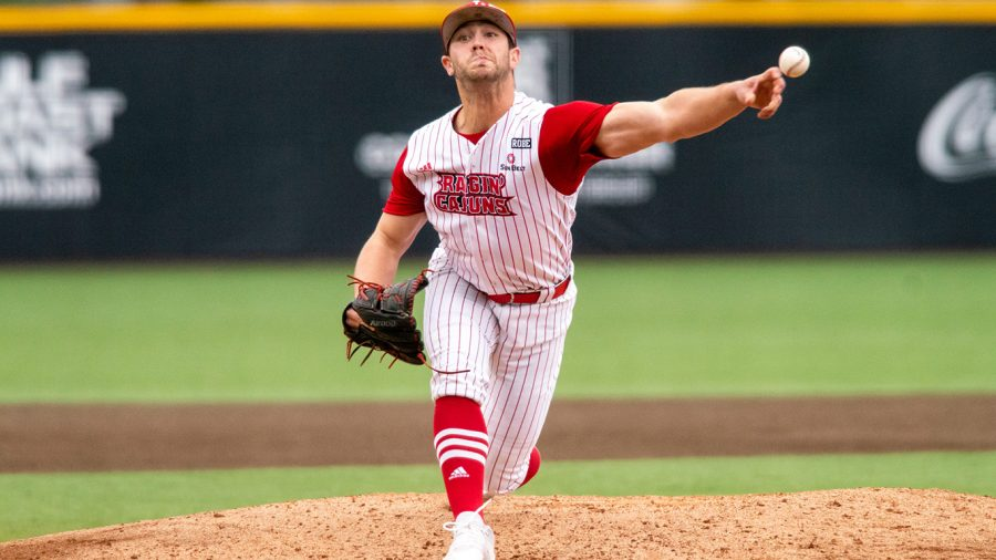 Brock+Batty%2C+senior+pitcher%2C+transfered+to+Southeastern+from+The+University+of+Louisiana+at+Lafayette+over+the+summer.+Batty+will+begin+playing+for+the+Lion%E2%80%99s+baseball+team+in+the+spring.+