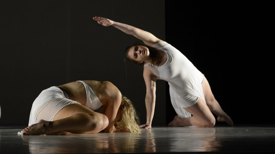 Dance Performance Project, the university's resident student contemporary dance company, performing in their Fall 2019 mainstage dance concert.