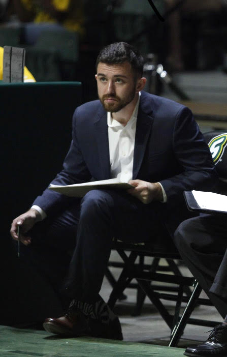 Riley Conroy was coached in college at Tulane University by former NBA Coach of the Year Mike Dunleavy Sr. The Tulane alumnus is currently obtaining a MBA in Sports Administration from Florida Atlantic University.