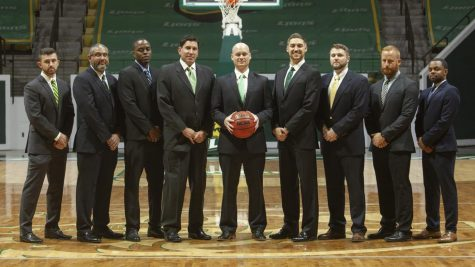 Mark Lieberman, associate head coach and fourth from left, started his coaching career in Florida after graduating from Florida International University. Lieberman was first introduced to head coach David Kiefer over twenty years ago before Lieberman coached with Louisiville legend Rick Patino.