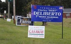 Campaign signs for local and state elections can be seen in yards and along roads across Hammond. Early voting for this year's election began n Oct. 16.