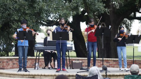 Students of the Southeastern Community Music School provided various solo and group performances at the school's 25th anniversary concert. The event was on campus and free to guests, who were encouraged to wear masks, social distance and bring their own chairs.