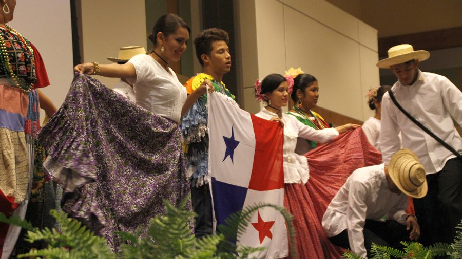 Traditionally, International Night takes place during the university's International Education Week. Students from a variety of different nationalities perform and showcase elements from their culture with a night of music, food, dancing and appreciation.