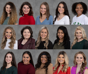 Miss Southeastern 2021 Contestant Composite Image