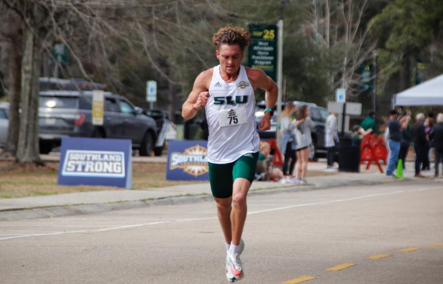 After the season, senior distance runner Shea Foster plans to attend Oklahoma State University to get his masters degree and to run Cross Country and Track and Field.