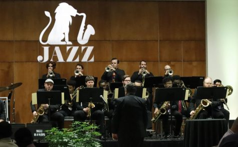 "The music department and the Hammond Rotary Club hosted ""An Evening of Jazz"" in February 2020. This semester, the university's jazz bands have been rehearsing for the Bill Evans Jazz Festival, April 14-17, after the festival was canceled last year."
