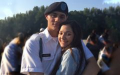 In August and September 2019, Elijah Arriago, pictured with Brynn Lundy, graduated from Basic Combat Training and Advanced Individual Training for the Army.