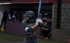 Shortstop Lindsey Rizzo steps up to the plate in the season-opening Lion Classic in February. Rizzo has since decorated her ongoing season with a .402 batting average. The Lady Lions currently sit 24-16 on the season and will face off against ULM on April 21 at 6 p.m.