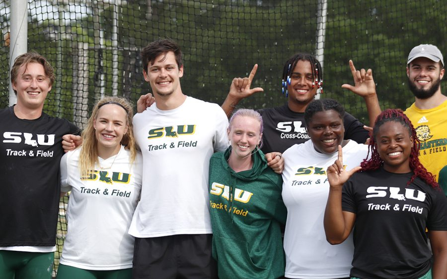 Southeastern hosted the Tune-Up meet at the universitys track complex April 30 and May 1, and four other schools participated.