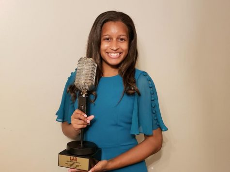 Raychelle Riley, a 2020 graduate, was announced as the winner on March 18. She is the sixth Southeastern student to receive the award.