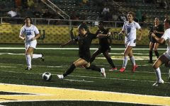 Freshman forward Maycie Massingill scored the Lady Lions lone goal for the Oct. matchup against McNeese. The goal was Massingills first of her collegiate career. The match ended in a 1-1 tie after going into double overtime.