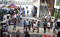 On Monday, Oct. 4 from 4-6:30 p.m., SLUs Interfraternity Council hosted its traditional recruitment barbecue in the Student Union Breezeway. Interested students browsed fraternities, engaged in activities, heard from guest speakers and received free food.