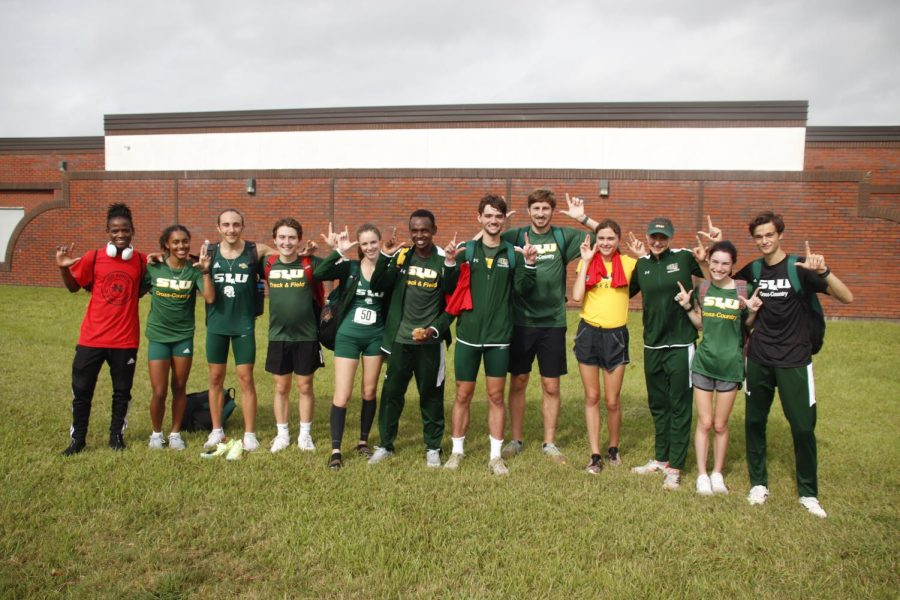 Lions cross country places second and third at Nicholls Invitational